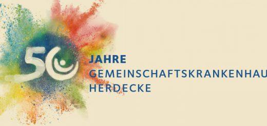 Zum fünfzigsten Jubiläum des GKH, buntes Logo